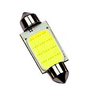 Автолампи LED C5W, діод COB, 36 мм, білий