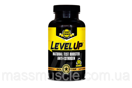 Тестостероновый бустер Gold Star Level UP Natural Testbooster 90 caps