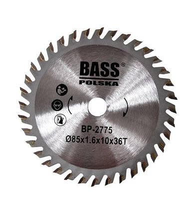 Твердосплавный диск 85 мм x 1.6 мм x 10 мм T36, фото 2
