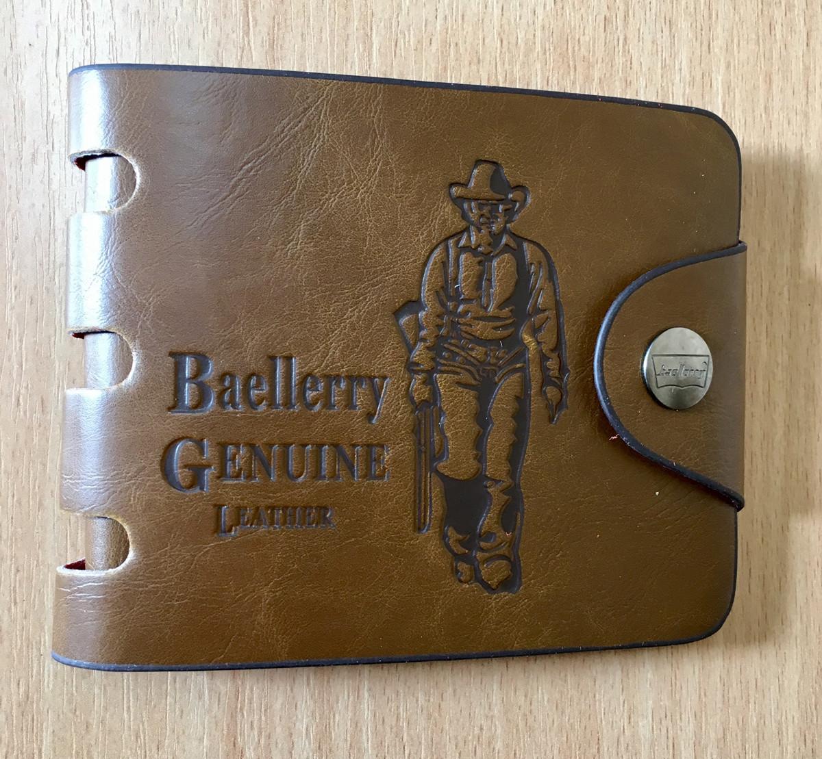 Мужской кошелек портмоне Baellerry Cowboy