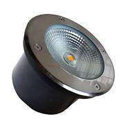 Грунтовый 50W тротуарный IP65 светодиодный светильник Ecolend  AC65-265V