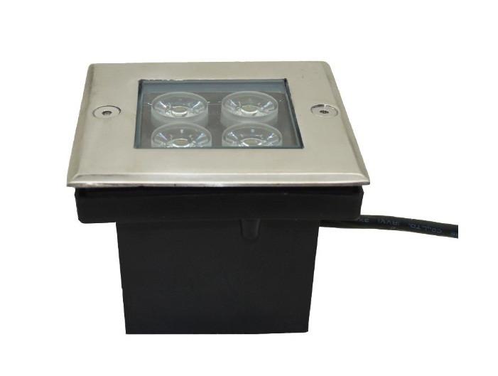 Грунтовый тротуарный светодиодный светильник Ecolend 4W AC65-265V