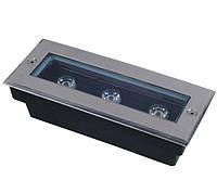 Грунтовый тротуарный  светодиодный светильник Ecolend 3W AC65-265V