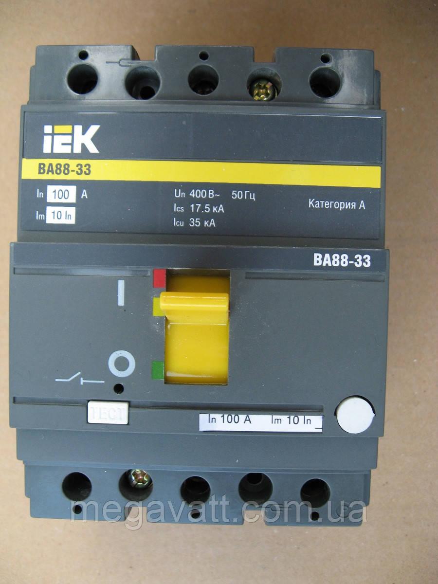 Выключатель ВА 88-33 100 А - МегаВатт-Прибор в Киеве