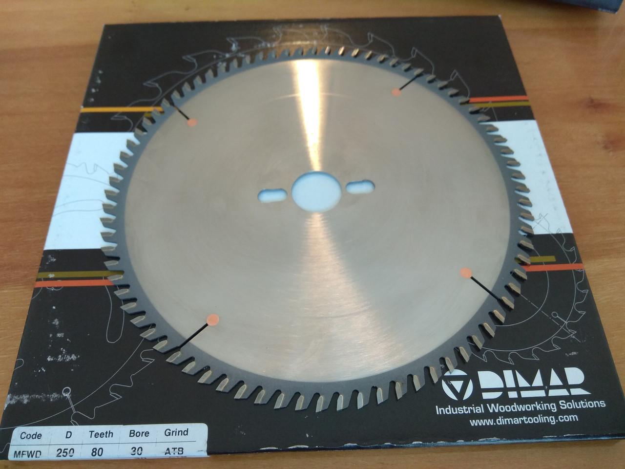 Пила DIMAR MFWD 250x30 80Z 2.3/1.6