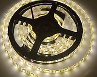 Светодиодная лента LED влагозащищённая, 12V, SMD5050, IP65, 60 д/м, белый теплый, фото 1