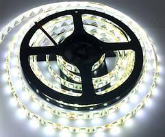 Светодиодная лента LED влагозащищённая, 12V, SMD5050, IP65, 60 д/м, белый холодный