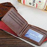 Мужской кошелек портмоне Baellerry Cowboy, фото 3
