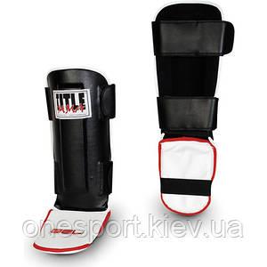 Защита голени TITLE MMA GEL Pro Shin/Instep Guards REG чёрный + сертификат на 100 грн в подарок (код 179-48865)