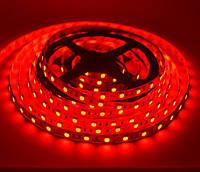 Светодиодная лента LED влагозащищённая, 12V, SMD5050, IP65, 60 д/м, красный, фото 1