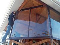 М'які вікна ПВХ. Прозорі штори ПВХ. Вуличні завіси ПВХ.