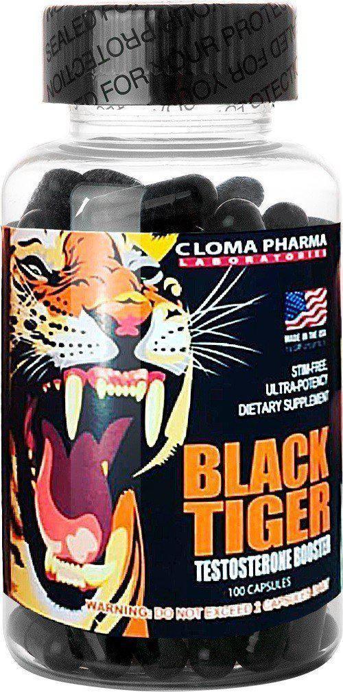 Тестостероновый бустер Cloma Pharma Tiger 100 caps