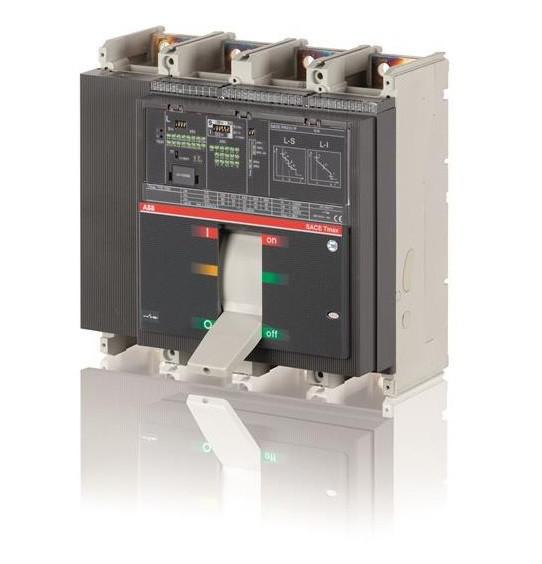 Выключатель автоматический ABB T7L 1600 PR332/P LSIG In=1600A 3p F F M, 1SDA063079R1