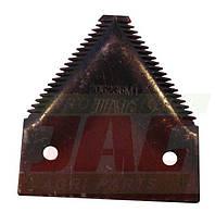 Сегмент косы 206236M1 комбайна Massey Ferguson
