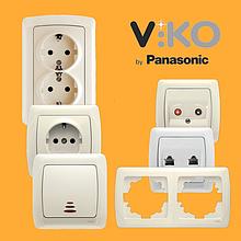 Розетки и выключатели viko by panasonic (турция)