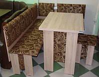 Кухонный уголок Аристократ с простым, раскладным столом, без стола и табуретов