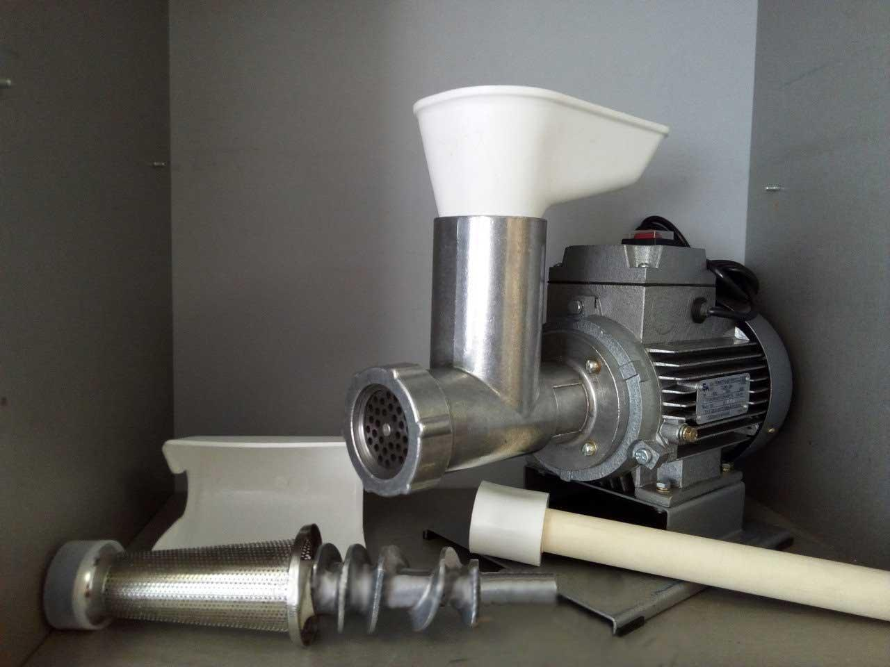 Пресс для отжима сока ТШМ-2М +мясорубка универсальный электрический(Полтава)