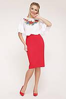 Блуза Мирабель-П маки к/р, фото 1