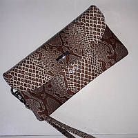 Кожаный кошелек-клатч Karya, фото 1