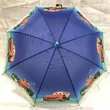 Зонтик Детский Тачки +свисток, фото 3