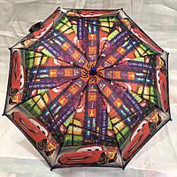 Зонтик Детский Тачки +свисток