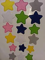 Аппликация для одежды Звезды