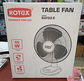 Настольный вентилятор ROTEX RAT02-E (45W)