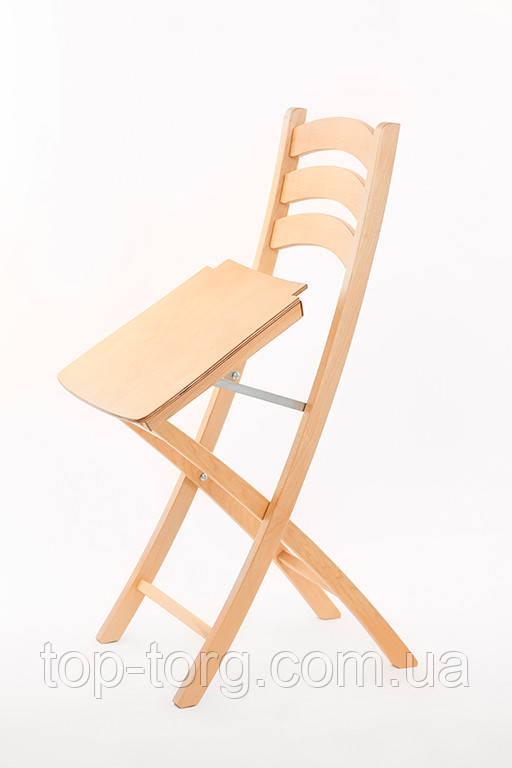 Стілець розкладний BOOK Silla, колір світлий бук