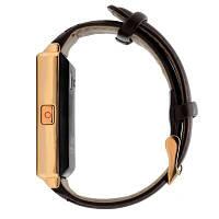 Умные часы D6 No.1 на Android 5.1 Кожа, Золотой, фото 1