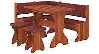 Кухонный уголок Барон с простым, раскладным столом, без стола и табуретов