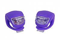 Мигалка 2шт FT201D (фиолетовый корпус)