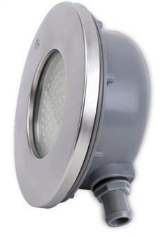 Подводный светодиодный светильник 9 ватт rgb  плоский IP68  Ecolend
