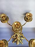 """Підсвічник бронзовий """"Амур (В)"""" камінний на 5 св., фото 5"""
