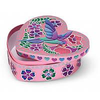 Sweetheart Treasure (Создай шкатулку по номерам Райская птичка) MelissaDoug MD4298 (код 182-49389)