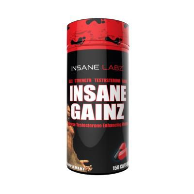 Тестостероновый бустер Insane Labz Insane Gainz 150 caps