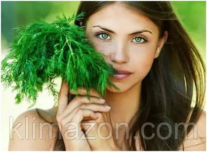 Рецепты масок для лица из зелени