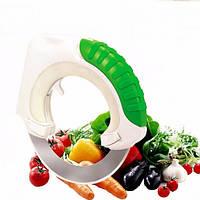 Нож дисковый для пиццы овощей мяса Выполнен в эргономичном дизайне Удобная пластиковая ручка Код: КГ4425