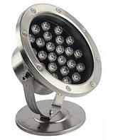 Подводный светодиодный светильник Ecolend 24W RGB