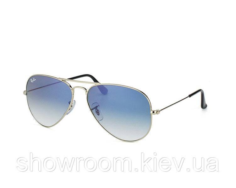 Мужские солнцезащитные очки в стиле RAY BAN aviator 3025,3026 (003/3F) Lux