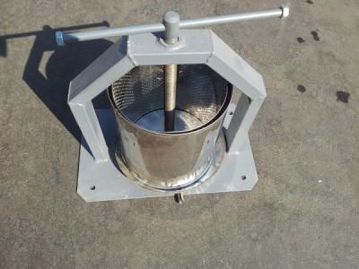 Пресс для отжима сока 10 л нержавейка ручной(Винница)