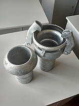 Замки на напорновсасывающие рукава (Ду100, Ду75, Ду125)., фото 2