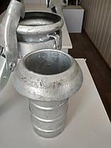 Замки на напорновсасывающие рукава (Ду100, Ду75, Ду125)., фото 3