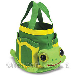 Tootle Turtle Tote Set (Сумочка садовника Черепашка) MelissaDoug MD6264 (код 182-49541)
