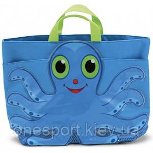 Flex Octopus Beach Tote Bag (Пляжная сумочка Осьминог Флекс) MelissaDoug MD6420 (код 182-49566)