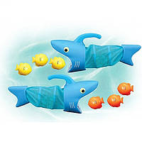 Spark Shark Fish Hunt Pool Toy (Водная игра Акула поймай рыбку) MelissaDoug MD6664 (код 182-49590)