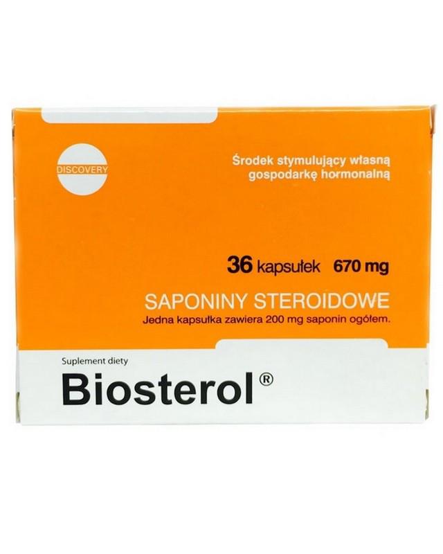 Тестостероновый бустер Megabol Biosterol 36 caps