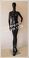 Манекен женский на хромированной подставке