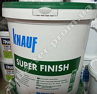 Шпаклёвка SHEETROCK (Шитрок), готовая шпаклёвка Knauf Super finish, ведро 25кг