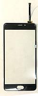 Сенсор (тачскрін) для Meizu M5 note (M621) original чорний