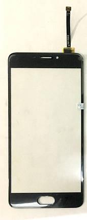 Сенсор (тачскрін) для Meizu M5 note (M621) original чорний, фото 2